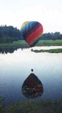 Hot air balloon rides at Snohomish,WA date night