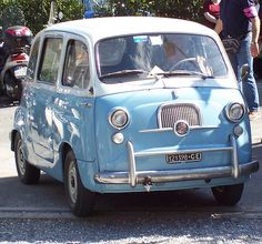 #FIAT 600 #Multipla #italiandesign