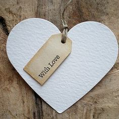 Gift Tags With Love