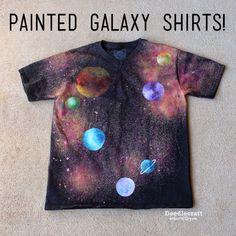 http://www.doodlecraftblog.com/2015/06/glitter-painted-galaxy-shirts.html