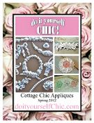 do it yourself Chic ~ appliques!   Love them!