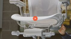 Remastered Aeron Chair launched today. Read more at http://us6.campaign-archive2.com/?u=5f34028065d3ff79edaa80558&id=b6c742b1e5. View the video at http://players.brightcove.net/2290002715001/HkhyfNlh_default/index.html?videoId=5159129102001