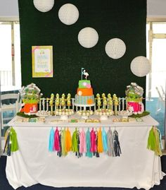 Preppy Golf Themed Baby Shower – Operation Shower