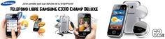 Teléfono libre Samsung C3310 con 22% de descuento http://www.esmio.es/blog/terminal-libre-samsung/