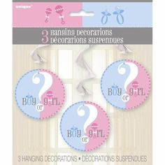 Gender Reveal/Baby Reveal/Party/Baby Shower Party Decorations/Baby Shower Party!