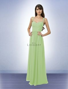 Pistachio Bridesmaid Dress Style 769 - Bridesmaid Dresses by Bill Levkoff
