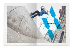 Go Skateboarding Mag On The Behance Network, curated by Michael Paul Young on Buamai.