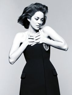 Marion Cotillard in Dior for Madame Figaro May 2014 by Jan Welters