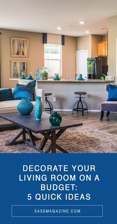 Cost-effect, #budgetfriendly and #DIY projects to decorate your living room. #homedecor #budgetdecor #interiordesign #livingroom Living Room On A Budget, Cozy Living Rooms, Living Room Decor, Family Room Decorating, Decorating On A Budget, Cheap Artwork, Decor Interior Design, Interior Decorating, Multipurpose Furniture