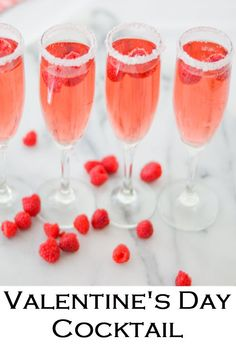 The perfect Valentine's Day Cocktail. Easy Raspberry cocktail with rose. This pink, red drink recipe is perfect for Galentine's Day and Valentines! #LMrecipes #drinks #drinkrecipe #cocktail #rosewine #raspberry #valentinesday #galentinesday #recipe #mixology #cocktailhour Raspberry Cocktail, Rose Cocktail, Cocktail Drinks, Raspberry Punch, Raspberry Cordial, Raspberry Preserves, Raspberry Syrup, Easy Cocktails, Red Cocktails
