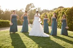 I like the sassy poses with the bridesmaids.