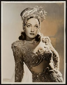 Dorothy Lamour in Road to Morocco Portrait Movie Photo Paramount 1943