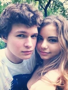 Ansel and Violetta: ansel Elgort reunites with his high school sweetheart