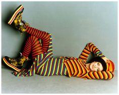 (Apr. 1993) – Twiggy by Steven Meisel