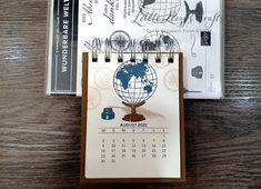 Kalender 2021 beim 3D Paper Trimmer Blog Hop Dezember 2020 - Thema: Willkommen 2021 Paper Trimmer, 3d Paper, Blog, Heartfelt Creations, Up, Crafts, Book Folding, December, Stamps