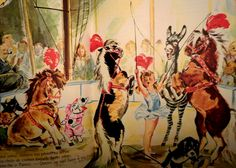 "Caroline's Circus / Pierre Probst's ""Caroline"" Series."