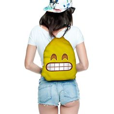 Modefreund TrendPrints Turnbeutel - Emoji Smile
