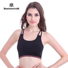 762b00499f39d Sexy Yoga Lulu Top Push-up Sports Bra Workout Cross Women Gym Sport Bras  for Fitness Gym Yoga Vest Padded Running Crop Tops -- AliExpress  Affiliate s ...