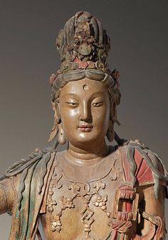 Mahayana Buddhism, Taoism, Guanyin, Buddhist Art, Ancient Jewelry, Buddha, Statue, Lotus, Reflection