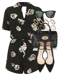 """""""Style #10127"""" by vany-alvarado ❤ liked on Polyvore featuring Oh My Love, ALDO, Mulberry, Jimmy Choo and Ray-Ban"""