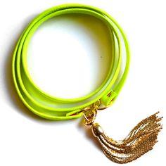 neon + a tassel = sold