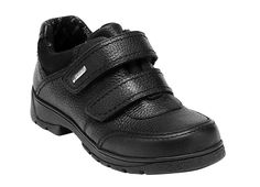 Aqua Stream - black first walking shoes. Perfectly suitable for school.