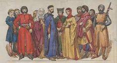 Znalezione obrazy dla zapytania średniowieczna moda