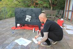 Stuart's Stencil Art – DGM Creative