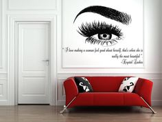 Thank you for visiting our store!!! Please read the whole description about this item and feel free to contact us with any questions! Vinyl wall decals are one of the latest trends in home decor. Vinyl wall decals give the look of a hand-painted quote, saying or image