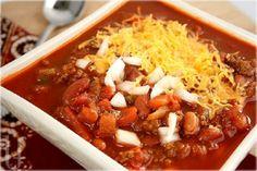 Receta de chili (estilo Wendy's)