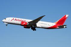 Boeing 787-8 Dreamliner - Avianca | Aviation Photo #3877887 | Airliners.net