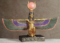 Isis is the Goddess of magic and mystery, compassion and mothering issues.