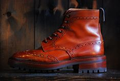 Tricker's Country boots Commondsole&heel | BRASS BLOG
