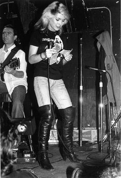 Photo of Blondie at CBGB's in New York
