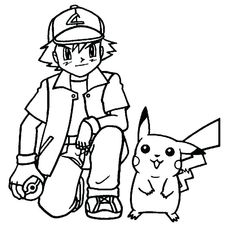 Simple Pikachu Coloring Pages Ideas for Children. Pikachu coloring pages ideas are appropriate for children and adult (beginner). Pikachu Coloring Page, Pokemon Coloring Pages, Cartoon Coloring Pages, Coloring Pages To Print, Coloring Book Pages, Coloring Pages For Kids, Pikachu Pikachu, Pikachu Kunst, 150 Pokemon