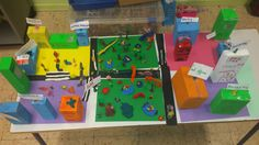 The city! You can create your own city with your students´creativity