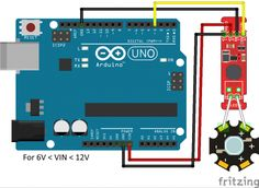Connected to Arduino Uno
