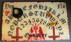 Ouija Board Blood God by GRavenNY on Etsy, $80.00
