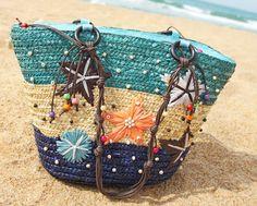 Hot Summer Design Straw Weave Women Tote Beach Bag Women Fashion Vacation Travel Handbag  Shoulder Bags  Bolsa Feminina #Affiliate