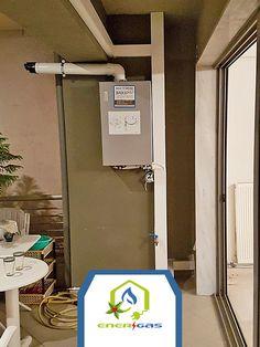 Μια εγκατάσταση λέβητα σε εξωτερικό χώρο, που φαίνεται πλέον σαν κομμάτι της διακόσμησης!  Θεσσαλονίκη - Περαία με ένα τηλεφώνημα στο 801 11 12321 www.energasgroup.com  #energas #φυσικό #αέριο #αξιοπιστία #homegas #itstime #callus #yoursneeds #ourpriority #bestchoice #service #bestservice