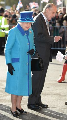 Queen Elizabeth II Visits Manchester