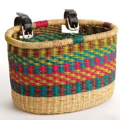Gifts for Her - Bolgatanga Bike Basket   SERRV