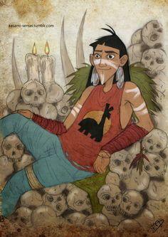 Disney characters take on the zombie apocalypse(Kuzco) (22 Photos)by Kasami Sensei
