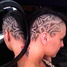 marcusph333's photo barber art. stars freestyle haircut