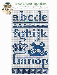 Lowercase cutout alphabet