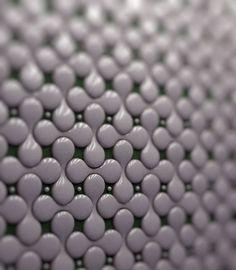 The future of backsplashes? Modular porcelain tiles that form an ...