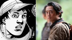 Steven Yeun has played Glenn since the series debut. The character has cheated death a few times and come a long way since his days as a former pizza delivery guy, getting married to Maggie and seeing his father-in-law, Hershel, be killed by The Governor.