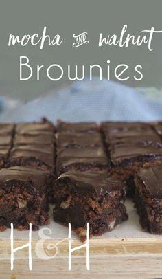 I just KNOW the majority of you reading this are either a) chocoholics, b) coffee addicts or c) cake/brownie lovers.  Am I right?  So, drop everything you're doing for just two minutes. Give me your full attention. Please. Two minutes is all I ask.  These fudgy mocha brownies really deserve your undivided attention.