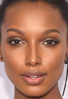 Close-up of Jasmine Tookes at the 2016 amfAR New York Gala.