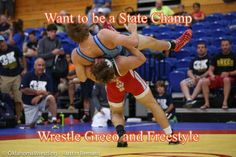 Greco/Freestyle wrestling better prepares state champions. Read the Article and Share with other Wrestlers